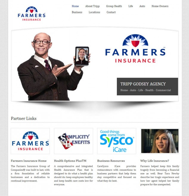 Farmers Insurance Website